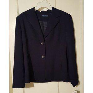 NWT Women's 8P 8 Petite Navy Blue Blazer Jacket